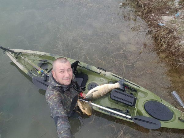 каяк для рыбалки Дэйв