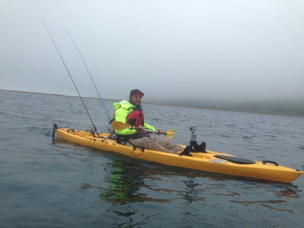 каяк для рыбалки Dave