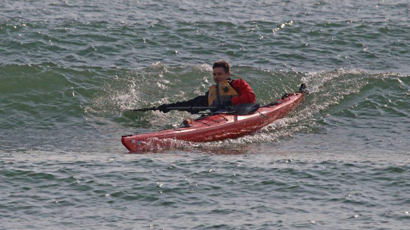 серфинг на каяке в приморье