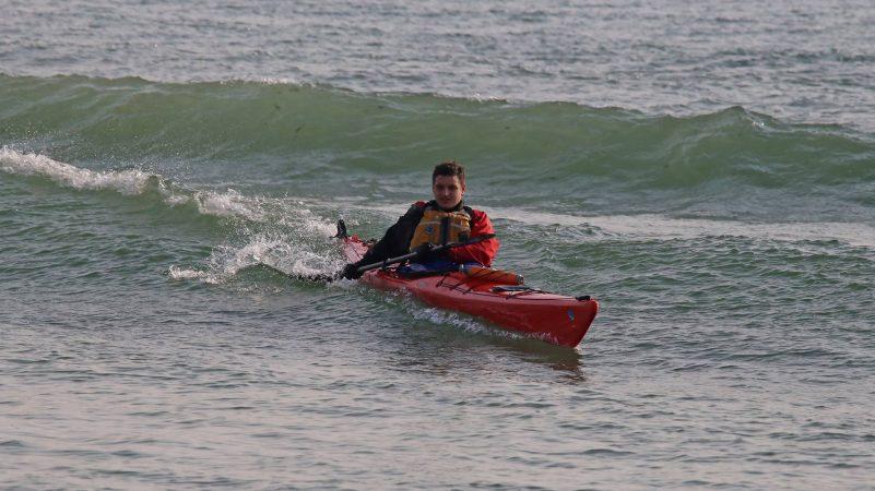 серфинг на каяке