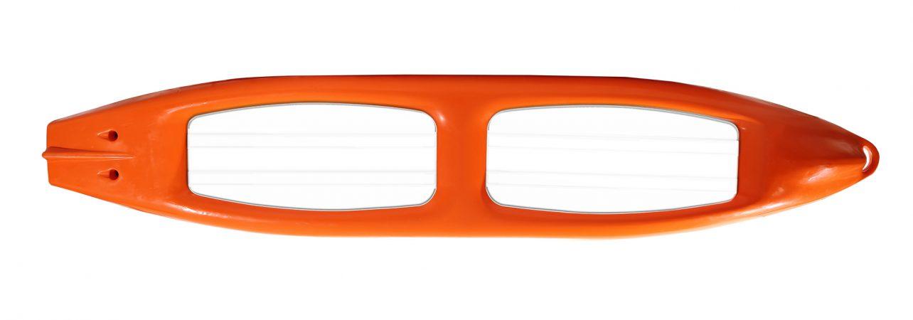 прозрачный каяк риф-2